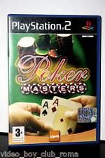 POKER MASTERS GIOCO USATO OTTIMO SONY PS2 EDIZIONE ITALIANA PAL 32009