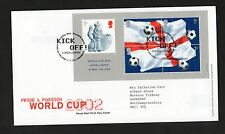 GB 2002 FDC World Cup Football  ,Tallents House Edinburgh  postmark stamps