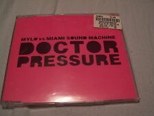 Doctor pressure by Mylo vs Miami sound machine CD Single 2005 Pop R&B Breastfed
