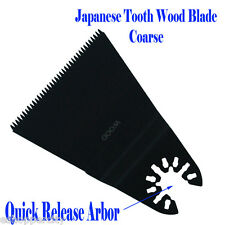 Wood Japan Multi Tool Saw Blade For Rockwell HyperLock Porter Cable Dremel Fein