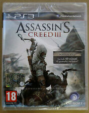Videogame - Assassin's Creed III - 3 - D1 Bonus Edition - PS3 - Italiano