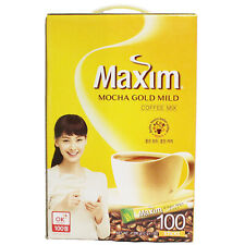Korean Maxim Instant Coffee (Mocha Gold) 100 Sticks