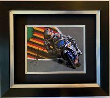 JORGE MARTIN HAND SIGNED FRAMED PHOTO DISPLAY GRESINI RACING MOTO3, MOTOGP 1.
