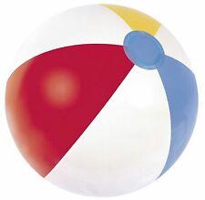 5x Wasserball 50 cm Strandball aufblasbar bunt Strand Badespaß NEU Bestway