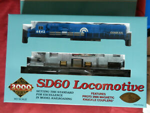 LL Proto 2000 23503 EMD SD60 Conrail #6842 MIB HO Scale DCC Ready