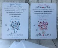 THANK YOU FOR BEING MY GODMOTHER CARD GODFATHER GODPARENTS THANK YOU CARD GIFT
