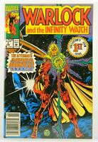Warlock and the Infinity Watch #1 1992 Marvel Comic Book Newsstand Variant