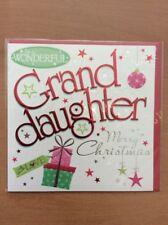 Noel Tatt Christmas Card - To A Wonderful Granddaughter Merry Christmas
