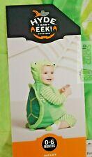 Halloween Costume Dress-up Hyde & Eek Baby Plush Turtle Costume 0-6M