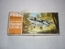 A Frog un-opened  / un-made plastic kit of  a Hawker Siddeley Harrier G.R Mk1.