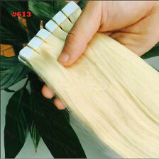 "Blonde Remy Human Hair Extensions PU Tape in Skin weft hair 20/40 Pcs 16""-24"".."