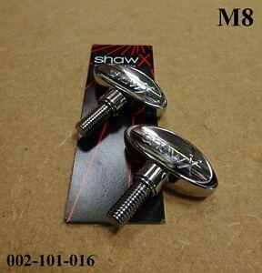2 x Shaw M8 Wingbolt / Wingscrew 8mm - Various Applications 002-101-016