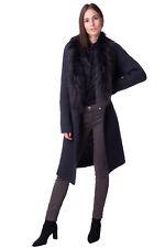FABIANA FILIPPI Cardigan Size 46 / L Cachmere & Wool Blend Fox Fur Trim RRP€1185
