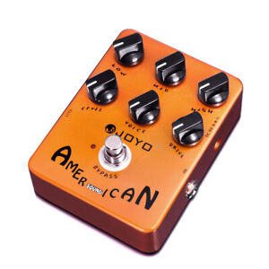 JOYO American Sound Amp Simulator Pedal Fd57 Deluxe Amplifier Clean to Overdrive