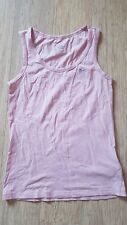 WOMENS NIKE PINK COTTON SINGLET TOP SIZE SMALL