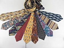Wholesale - Lot of 10 Mixed 100% Silk Stylish Men's Designer Neckties Ties#14