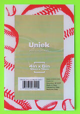 Uniek * Clearly Slim SPORTS MAGNETIC PICTURE FRAME Baseball Refrigerator Magnet