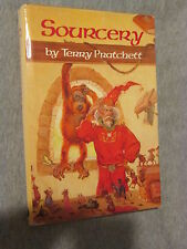 Terry Pratchett Sourcery A Discworld Novel #5 HC/DJ 1989 Signet NAL BCE