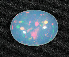 3.7 ct Colorful Ethiopian Welo Opal Cabochon - colorful