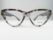 Miu Miu VMU 10N UAH-1O1 Blue / Browns Spotted New Eyeglasses 54mm - 54