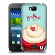 Étuis, housses et coques rouge en velours pour téléphone mobile et assistant personnel (PDA) Huawei