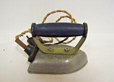 FER A REPASSER ELECTRIQUE POIGNEE BOIS NOIRCI JOUET ANCIEN 1930