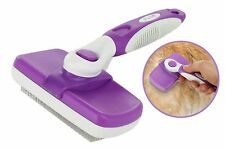 Poodle Pet Self Cleaning Slicker Brush for Dogs,Etc.Easy Clean,Grooming Tool