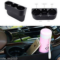 Universal Car Truck Central Armrest Drink Bottle Cup Holder Stand Storage Box