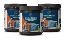 German Creapure® 100% Pure Micronized Creatine Monohydrate 300g (3 Bottles)