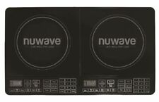 NuWave 30602 Electric Induction Double Countertop Burner Cooktop – Black