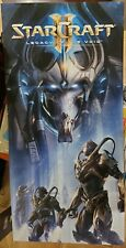 StarCraft II 2 Legacy of the Void Gamestop Display 3 Piece Super Rare 45.5x22 ++