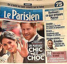 LE PARISIEN n°22925*19/05/2018*HARRY & MEGHAN 1 CONTE DE FÉES*WINDSOR=PASSION FR