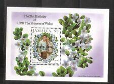 Jamaica SC # 545 Royal Baby . Souvenir Sheet . MNH