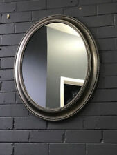 Living Room Art Deco Oval Decorative Mirrors
