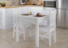 Gruppo Alimentare Tavolo 2 Stühle da Pranzo Tavolino Pino Legno Massello