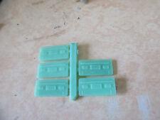 France Train lot 5 lot cloisons en plastique verte