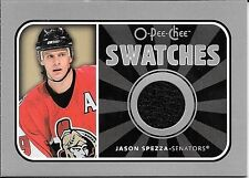 06/07 O-Pee-Chee Swatches #JS Jason Spezza Jersey Insert Card