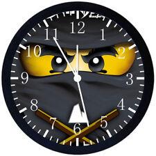 """Lego Ninja Ninjago Alarm Schreibtisch Uhr 3.75 /"""" Heim oder Büro Dekor W119 Schön"""