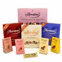 Thorntons Chocolates Classics - Milk,Dark,Mint,Caramels,Puddings,Nuts&Pralines