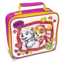 Paw Patrol Girls Lunch Bag Childrens Kids School Nursery Skye Everest Pups NEW