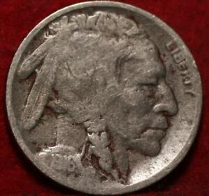 1916-D Denver Mint Buffalo Nickel