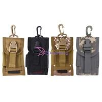Tactical Molle Cell Phone Holder Belt Waist Pack Pouch Military Pocket Bag