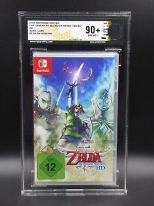Nintendo Switch The Legend of Zelda Skyward Sword - RGS Grading Wertung 90+ MINT