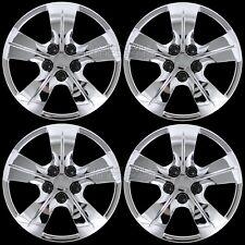 "4 Chrome 16-18 Chevy Cruze L LS 15"" Bolt On Wheel Covers Hub Caps fit Steel Rim"