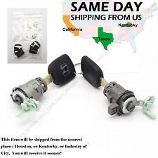 New For 2002-2006 Honda CRV CR-V 2.4L Left & Right Door Lock Cylinder w/ 2 Keys