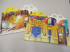 Bat Man mc donalds Happy Meal 2 cajas 1994