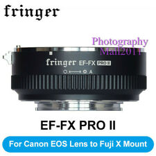 Fringer EF-FX PRO II Auto Focus Adapter for Canon EF Lens to FX Fuji X-T30 T4 H2