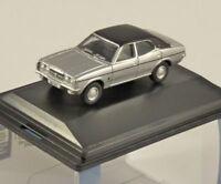 FORD CORTINA Mk3 in Strato Silver 1/76 scale model OXFORD DIECAST