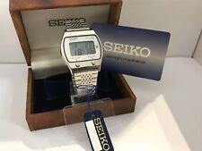 Seiko A021-5000 First Seiko's Alarm Chronograpf Quartz LCD LED Watch