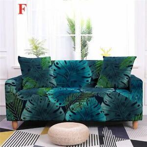 Lycra Sofa Covers 2 3 Seater Spandex Slipcover Polyester Furniture Pillow Covers